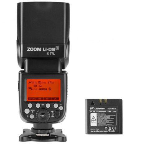 Flashpoint Zoom Li-on R2 TTL On-Camera Flash Speedlight for Canon
