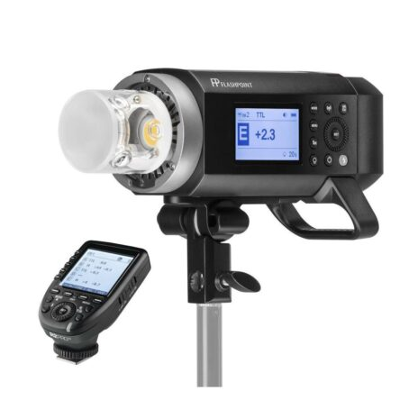 Flashpoint XPLOR 400 Pro Compact TTL R2 Battery Powered Monolight  With R2 Pro Transmitter for Sony