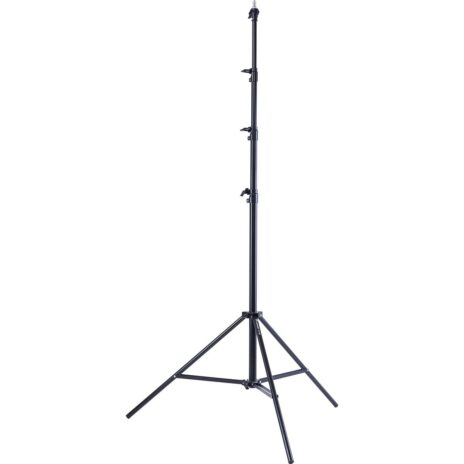 Flashpoint Pro Air-Cushioned Heavy-Duty Light Stand (Black, 13′)