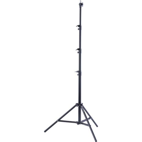 Flashpoint Pro Air-Cushioned Heavy-Duty Light Stand (Black, 9.5′)