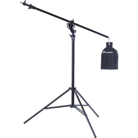 Flashpoint Pro Air Cushioned Heavy Duty Boom Light Stand – 13′
