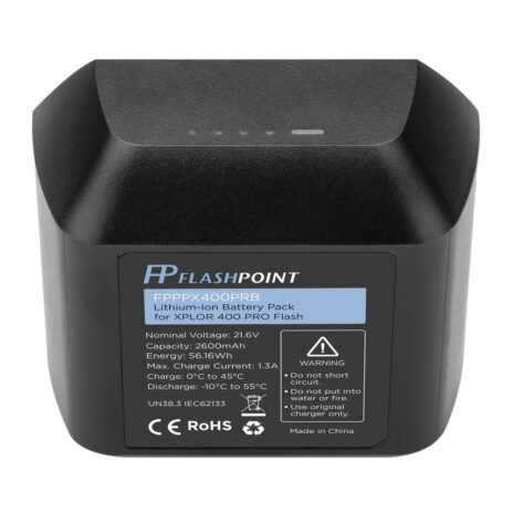 Flashpoint Lithium-Ion Battery Pack for XPLOR 400 PRO (21.6V, 2600mHh)