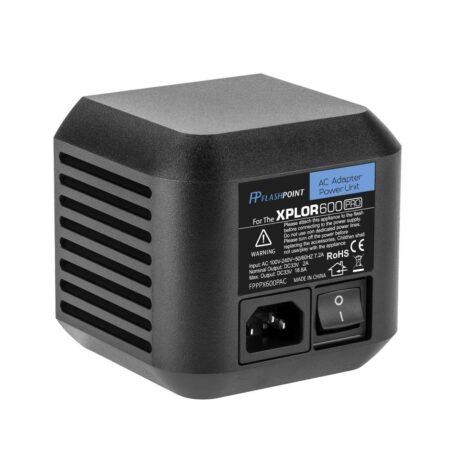 Flashpoint AC Adapter Unit for the XPLOR 600 Pro R2 Series Monolights