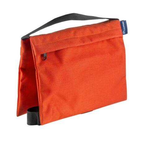 Flashpoint Empty Saddle Sandbag, Cordura Nylon – (18 lb Capacity, Orange)