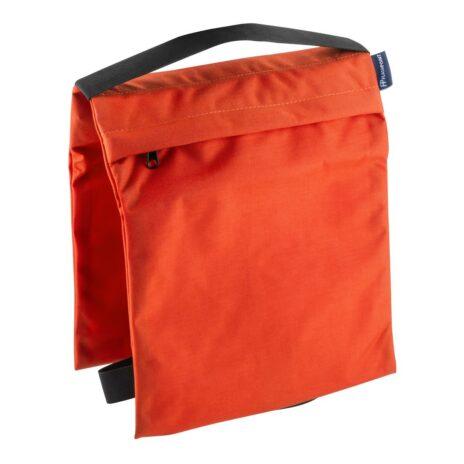Flashpoint Empty Saddle Sandbag, Cordura Nylon – (27 lb Capacity, Orange)