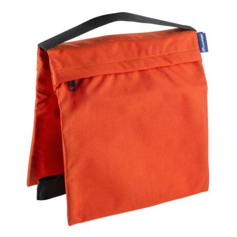Flashpoint Empty Saddle Sandbag, Cordura Nylon – (35 lb Capacity, Orange)
