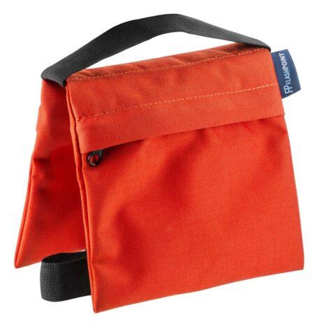 Flashpoint Empty Saddle Sandbag, Cordura Nylon – (5 lb Capacity, Orange)