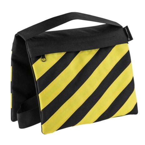 Flashpoint Empty Saddle Sandbag, Cordura Nylon – (18lb Capacity, Yellow & Black)