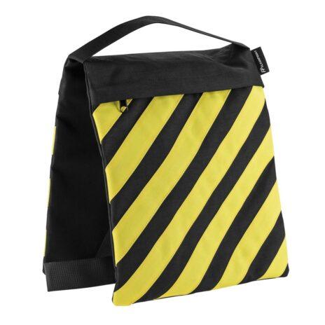Flashpoint Empty Saddle Sandbag, Cordura Nylon – (27lb Capacity, Yellow & Black)