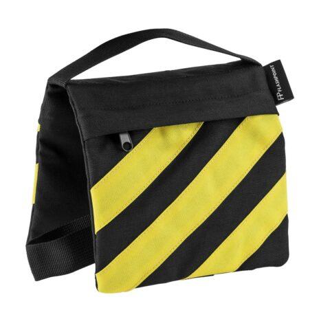 Flashpoint Empty Saddle Sandbag, Cordura Nylon – (5lb Capacity, Yellow & Black)