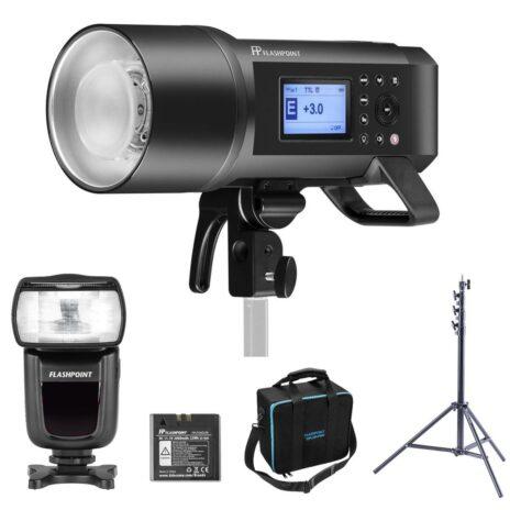 Flashpoint XPLOR 600 PRO TTL R2 Monolight with Zoom Li-ion Speedlite For Nikon