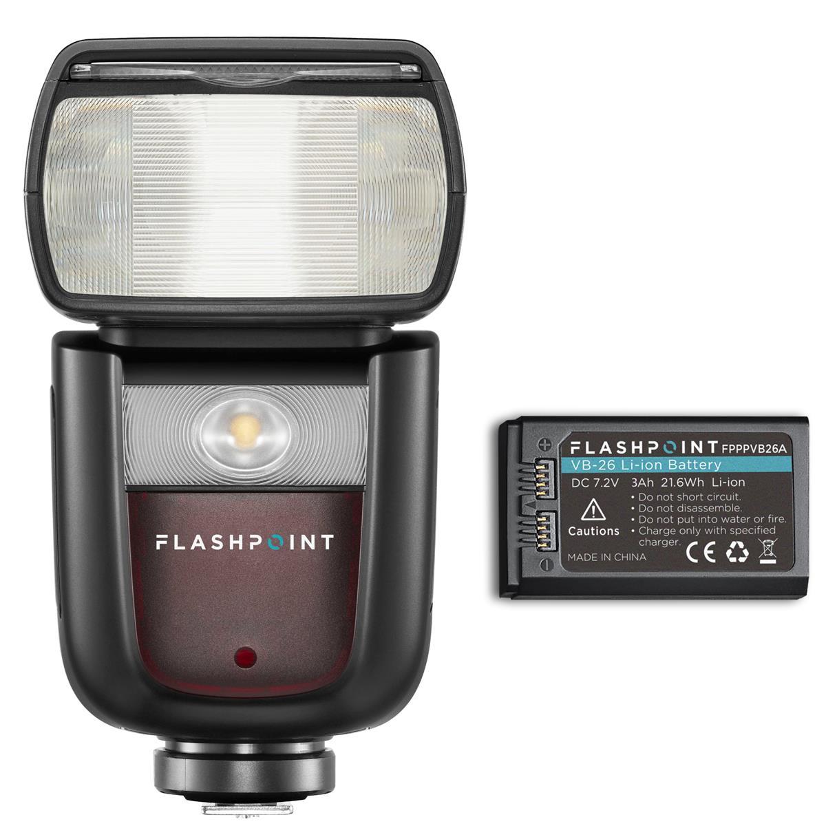 Flashpoint Launches Zoom Li-on III Speedlight